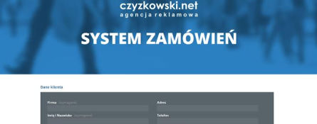 Screenshot of czyzkowski.net