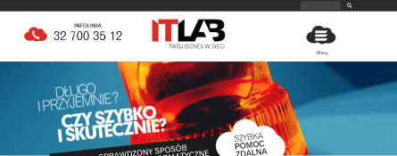 Screenshot of itlab.pl