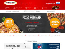 Screenshot of the valentinopizza.pl store