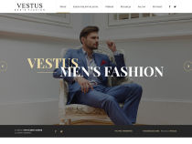 Screenshot of website vestus.pl