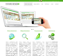 Screenshot of futuro-design.com.pl