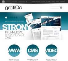 Screenshot of grafiQa.pl