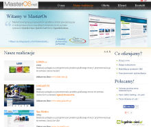 Screenshot of masteros.net